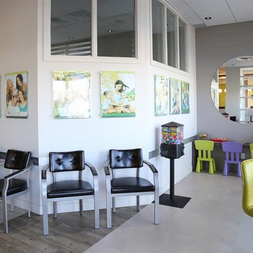 salle d'attente du Centre Dentaire Beauclair